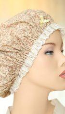 כובע שינה מסגנון הימים ההם- מעוצב ,ומלא חן-  לנשים