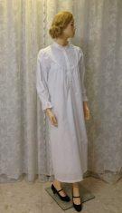 כותונת נשים בסגנון של פעם,מכותנה לבנה ארוכה