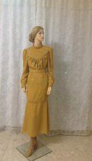 חליפת שיפון נשית  ומהודרת, בסגנון של פעם